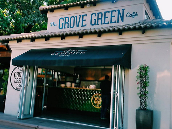 Fitness food at The Grove Green Café