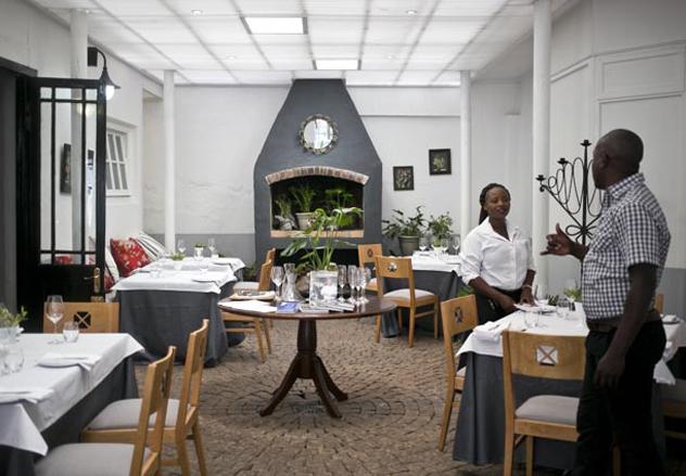 Interior of Restaurant Jardine