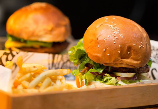 One of the mouthwatering burgers on offer at Jerry's Burger Bar. Photo supplied.