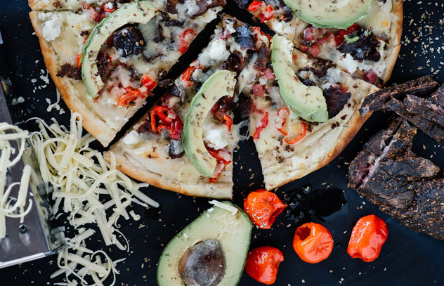 One of the delicious pizzas on the Kerdoni's menu. Photo supplied.