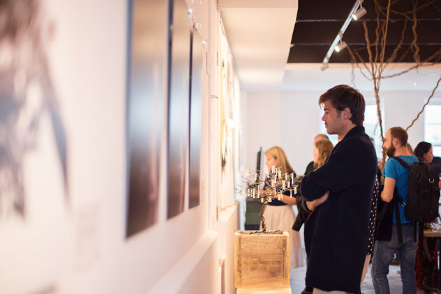 UPSTAIRS by [spasie] will open its doors to the public tonight for First Thursdays. Photo by ST Photography.