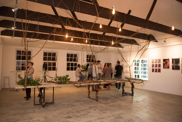 The first multi-sensory event, ROOTS, was held on Wednesday. Photo by ST Photography.
