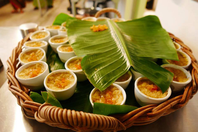 Rice pudding hidden treasures