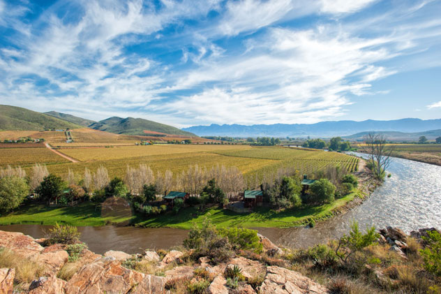 The beautiful Robertson wine valley. Photo supplied.