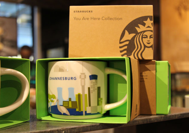 The famed Starbucks collectable mug. Photo by Rupesh Kassen.