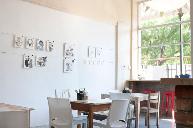 Local art adorns the walls at The Drawing Room. Photo supplied.