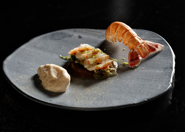 An item from the tasting menu at The Test Kitchen. Photo supplied.