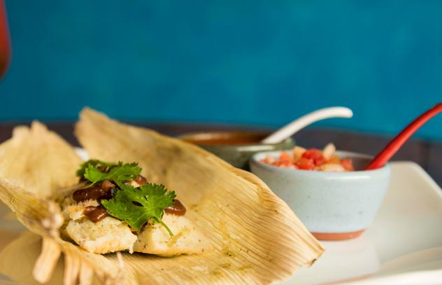 The tamales. Photo by Rupesh Kassen.