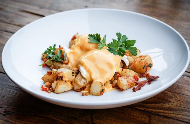 A dish at Trio. Photo by Lisa Skinnner/Skinnderella