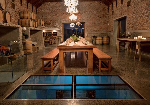 A cosy winery in Robertson. Photo supplied.