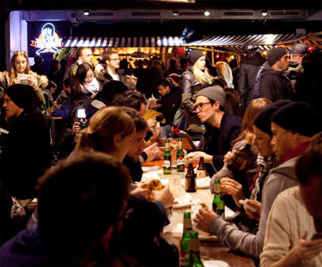 The Burgers & Hip Hop street-food festival  originally launched in Berlin. Photo supplied.