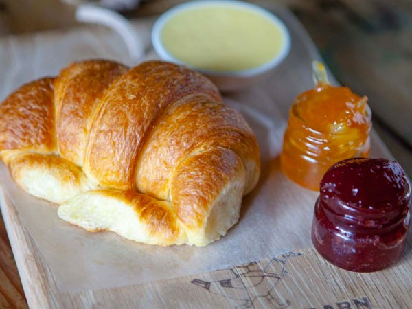 The golden croissant at Foodbarn Deli and Tapas. Photo supplied.