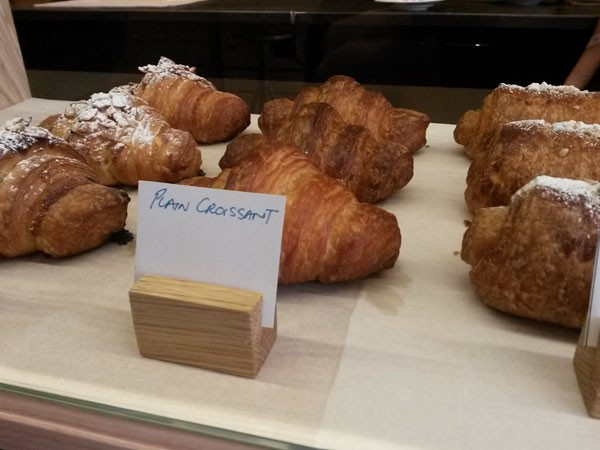 Some of the croissants available at Jason Bakery.