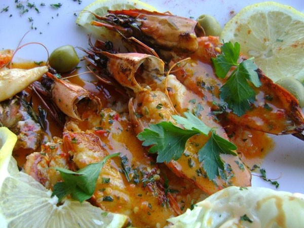 Prawns at Mo-Zam-Bik. Photo supplied.