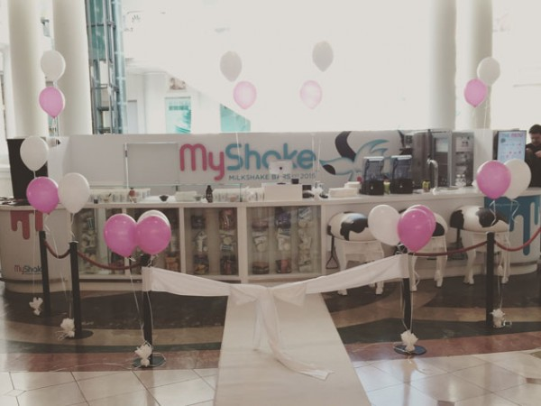 The playful MyShake bar situated in Canal Walk Shopping Centre.