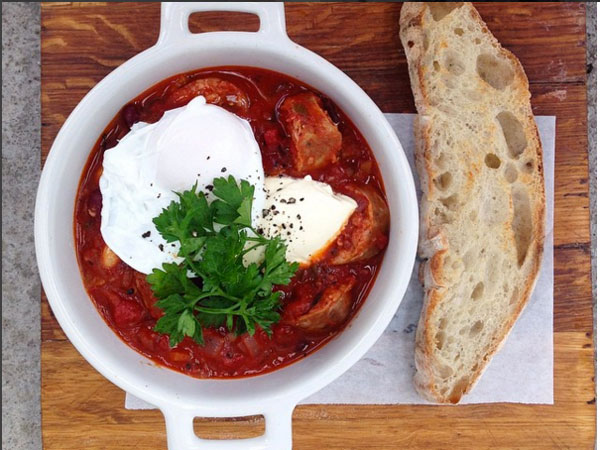 5 great places for spicy shakshuka