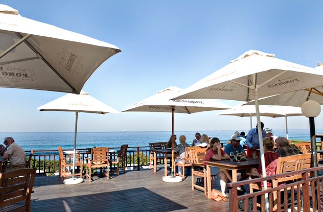 The restaurant's new location in Westbrook, Tongaat, offers some of the best sea views along the Durban coast. Photo supplied.