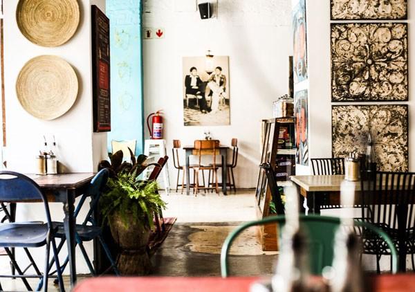 The interior of Milk Bar. Photo courtesy of the restaurant