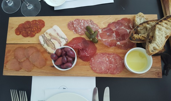 One of the antipasti platters at The Glenwood Restaurant. Photo by Nikita Buxton.