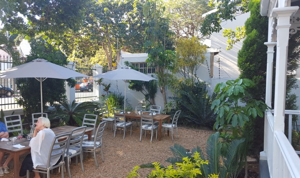 The outside area at The Glenwood Restaurant. Photo by Nikita Buxton.