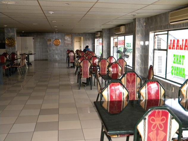 The interior at Al Noor. Photo supplied.
