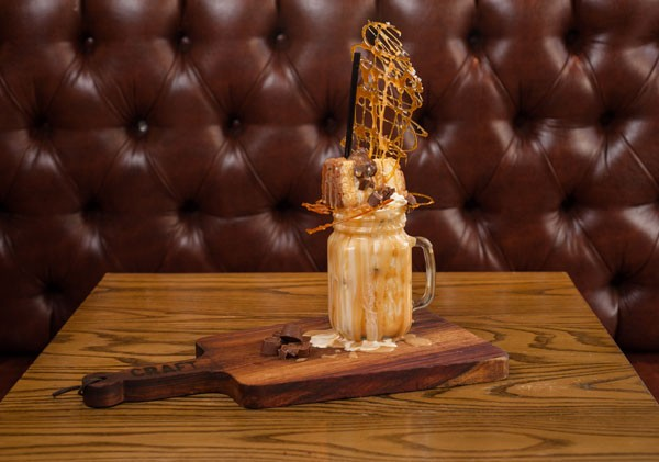The salted-caramel shake at Craft in Parkhurst. Photo supplied.