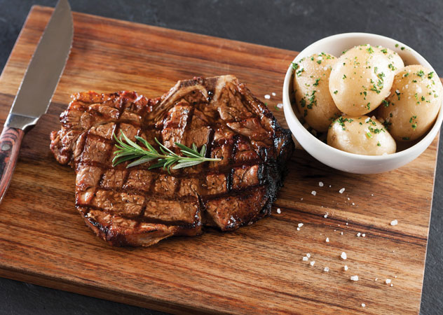 A juicy steak at Hussar Grill. Photo supplied.