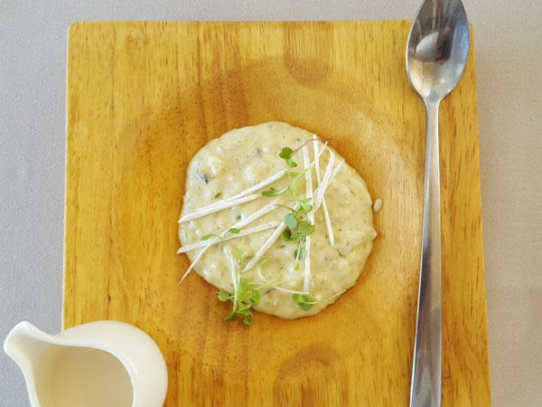 Eat this now: Savoury risotto-like oats at Myoga