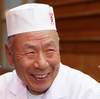 Sushi master Papa San. Photo supplied.
