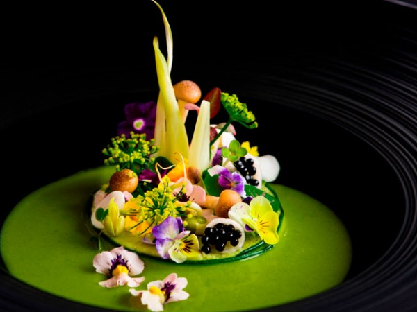 A dish from the Roots and Shoots menu at Restaurant Mosaic at The Orient. Photo supplied.