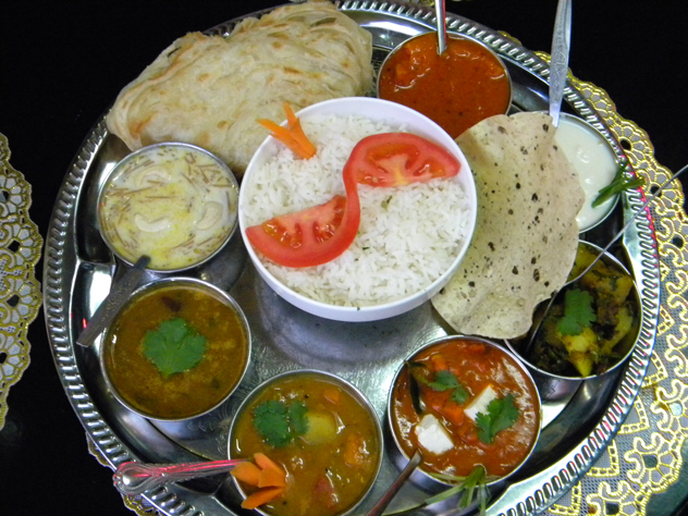 Thali from Thali Restaurant. Photo Supplied.