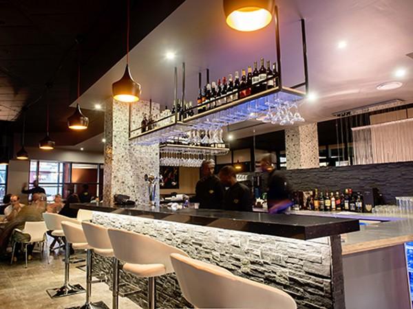 The bar at Greedy Buddha. Photo supplied.