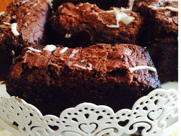 The gluten-free brownies at Coffee Tree. Photo supplied.
