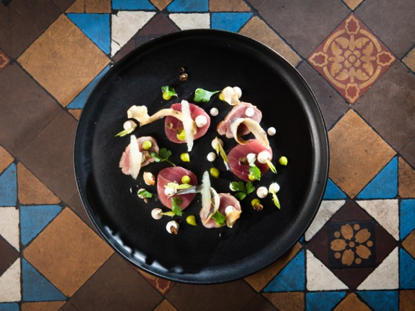 A tapas dish at Chefs Warehouse. Photo by Jan Ras.