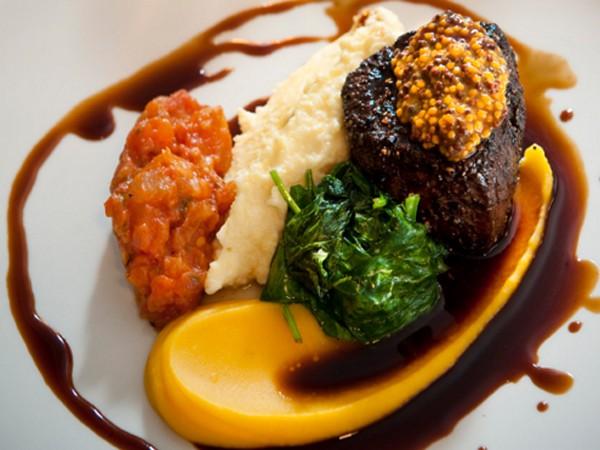 A dish at Reuben's Restaurant in Franschhoek. Photo supplied.