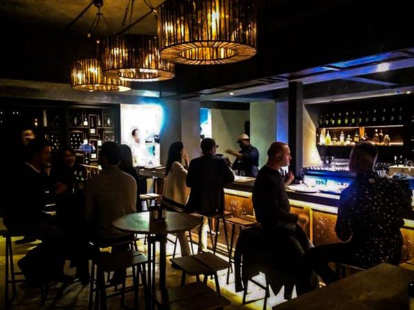 The bar at Stuzzico at Villa 47. Photo supplied.