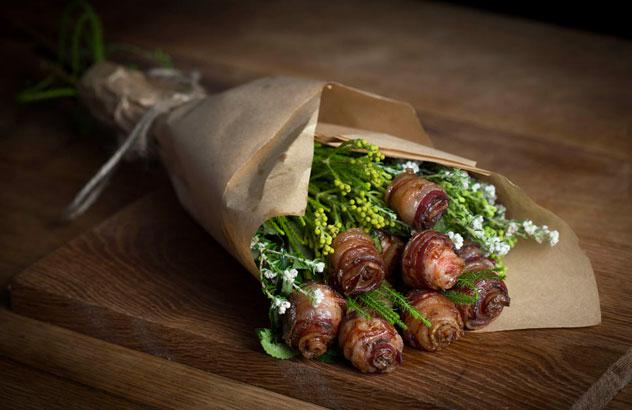 Bacon-bouquet