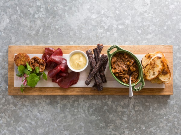 Charcuterie platter at Eight at Spier. Photo supplied.