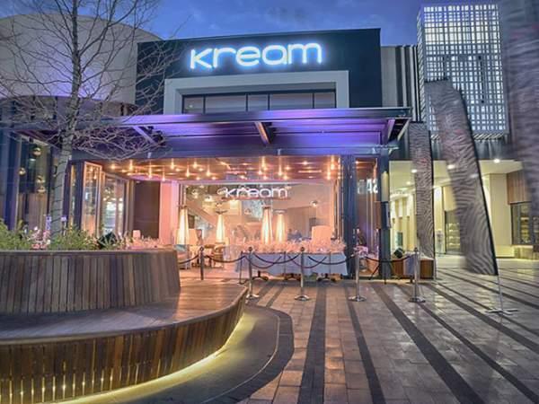 Kream Restaurant Mall Of Africa