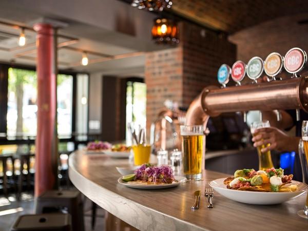 Beer and Mexican eats at Tuk Tuk Microbrewery. Photo supplied.