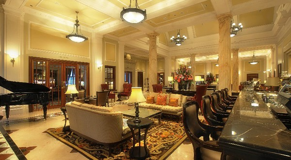 The Lobby Lounge at The Taj Hotel. Photo supplied.