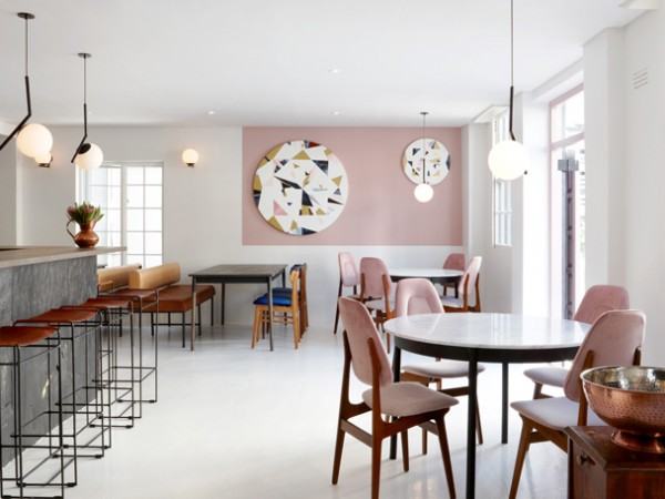 The stylish interior at Mulberry & Prince. Photo supplied.