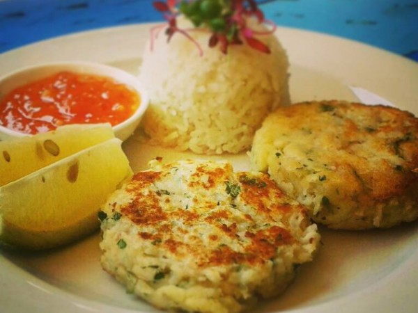 Fishcakes at Urban Eatery. Photo supplied.
