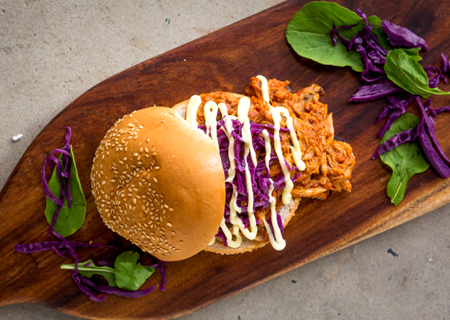 Graham Neilson from Boiler Room Café will be cooking up pulled pork in his new food truck, Roast Co. Photo supplied.