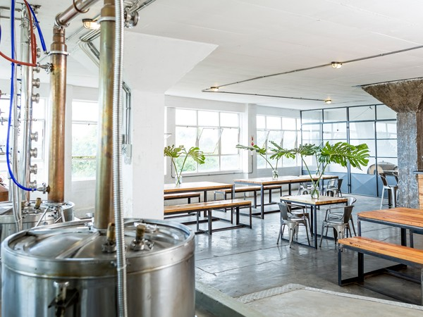 The working distillery at 031 Bar and Restaurant. Photo supplied.