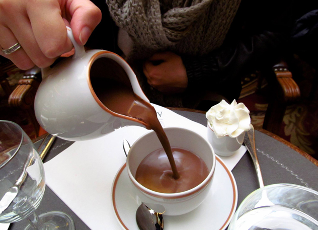 Now that's what we call hot chocolate! Photo by Lindi Brownell Meiring.