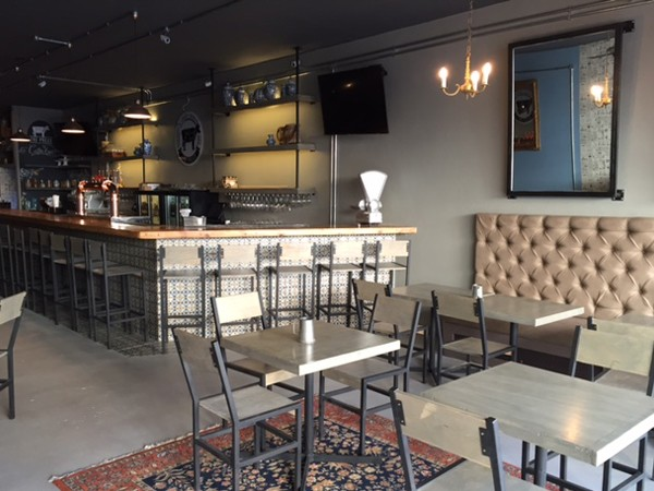 The interior at The Press Bar & Grill to open at the end of June. Photo supplied.