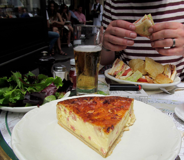 A glorious quiche. Photo by Lindi Brownell Meiring.