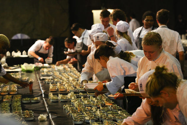 Chefs at 2015 EO Awards