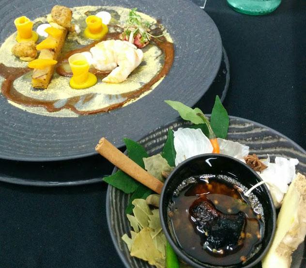 Dion Vengetass's dish.